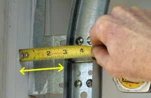 garage door measurement