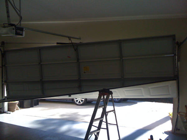 Houston Off Track Garage Door